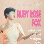 Ruby Rose Fox in Concert