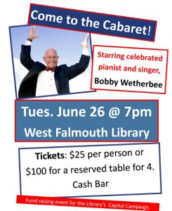 """Come to the Cabaret"" An Evening with Bobby We..."