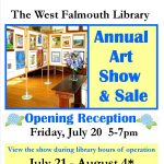 West Falmouth Library Annual Art Show and Sale