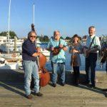 CrabGrass Bluegrass Band at Nauset Beach in Orleans