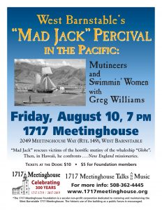 "West Barnstable's ""Mad Jack"" Percival in the Pacific: Mutineers and Swimmin' Women"