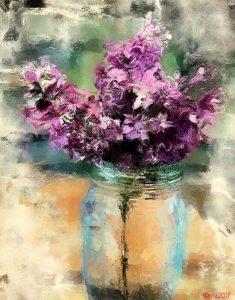 Aug 18 Painting in iColorama with Rita Colantonio