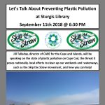 Let's Talk About Plastic Pollution at Sturgis Library