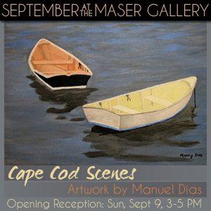 """Cape Cod Scenes"" - Artwork by Manuel Dias"