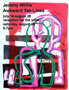 Artists Reception: Jeremy Willis
