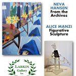 Neva Hansen and Alice Manzi at Larkin Gallery