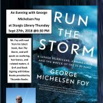 An Evening With George Michelsen Foy at Sturgis Library