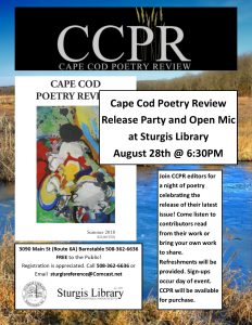 Cape Cod Poetry Review Release Party and Open-Mic