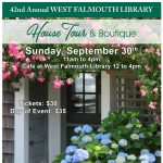42nd West Falmouth Library House Tour and Boutique