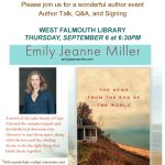 Author Emily Jeanne Miller