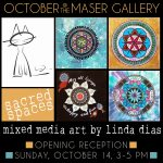 """Sacred Spaces"" - Mixed media art by Linda Dias"