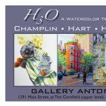 """""""H3O, A Watercolor Trio Show"""""""