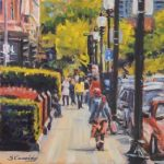 One on One Oil Paintingw/ Sean Cassidy