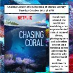 Chasing Coral Movie Screening at Sturgis Library