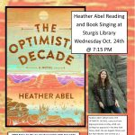 Heather Abel Reading and Book Signing