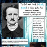The Life and Death (Mostly Death) of Edgar Allan Poe at Sturgis Library