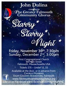 Greater Falmouth Community Chorus - Starry Starry ...