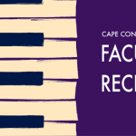 Cape Conservatory Faculty Recital