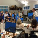 FAMILY PAINT NIGHT, Painting & Pottery Classes & Workshops at Cape Cod Museum of Art