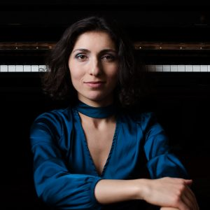 Pianist Ana Glig, in Concert