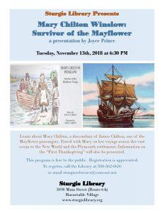 Mary Chilton Winslow: Survivor of the Mayflower