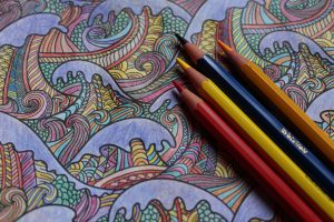 Coloring and a Cuppa