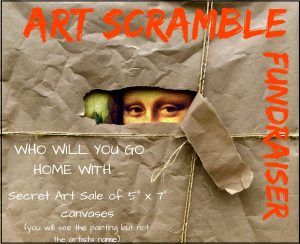 Eastham Library's Art Scramble Fundraiser
