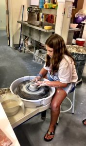 After School Throwing on the Pottery Wheel and Open Studio with Kim Sheerin