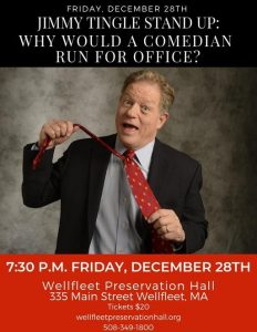 Jimmy Tingle Live: Why Would A Comedian Run For Office?