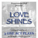 Love Shines - Three One Act Plays by Robert David Cohen