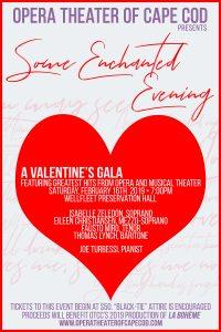 Valentine's Celebration Gala to Benefit Opera Theater of Cape Cod
