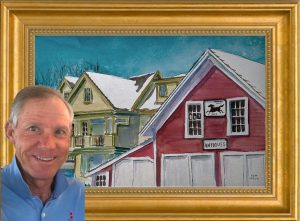 Tom Leach, Featured Artist in Guild of Harwich Art...