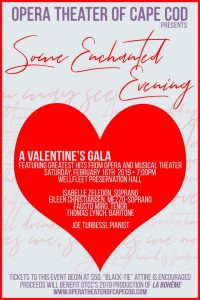 Some Enchanted Evening: A Valentine's Gala with Opera Theater of Cape Cod