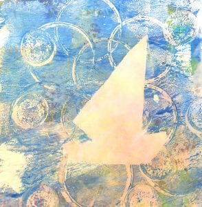 GELLI PLATE PRINTING FOR KIDS with Mary Jane Xenak...