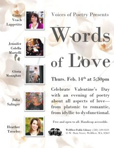 Voices of Poetry: Words of Love