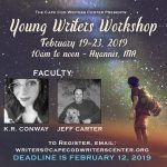 FREE YOUNG WRITERS WORKSHOP of Cape Cod Writers Center