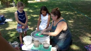 Summer Clay Camp: Wheel Throwing for Teens with Ki...