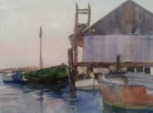 The Guild of Harwich Artists' Bank Art Show Seri...