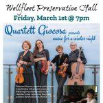 Quartett Giocosa presents: Music For A Winter Night