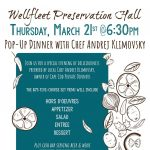 Pop-Up Dinner with Chef Andrej Klimovsky