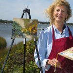 Beginners Painting 101 with Marian Strangfeld at the Creative Arts Center, Chatham, April/May