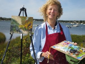Beginners Painting 101 with Marian Strangfeld at t...