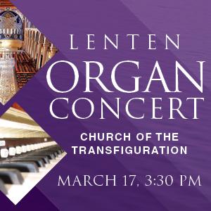 Lenten Organ Concert