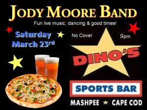 Jody Moore Band @ Dino's!