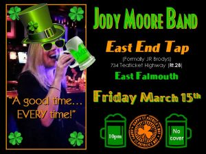 Jody Moore Band at East End Tap!