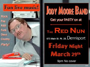 Jody Moore Band @ The Red Nun!