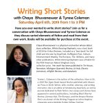 Writing Short Stories with Chaya Bhuvaneswar and Tyrese Coleman
