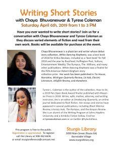 Writing Short Stories with Chaya Bhuvaneswar and T...