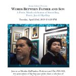 Words Between Father and Son: A Poetry Month celebration of Storytelling, Poetry, Jazz & Hip-Hop