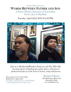 Words Between Father and Son: A Poetry Month celeb...